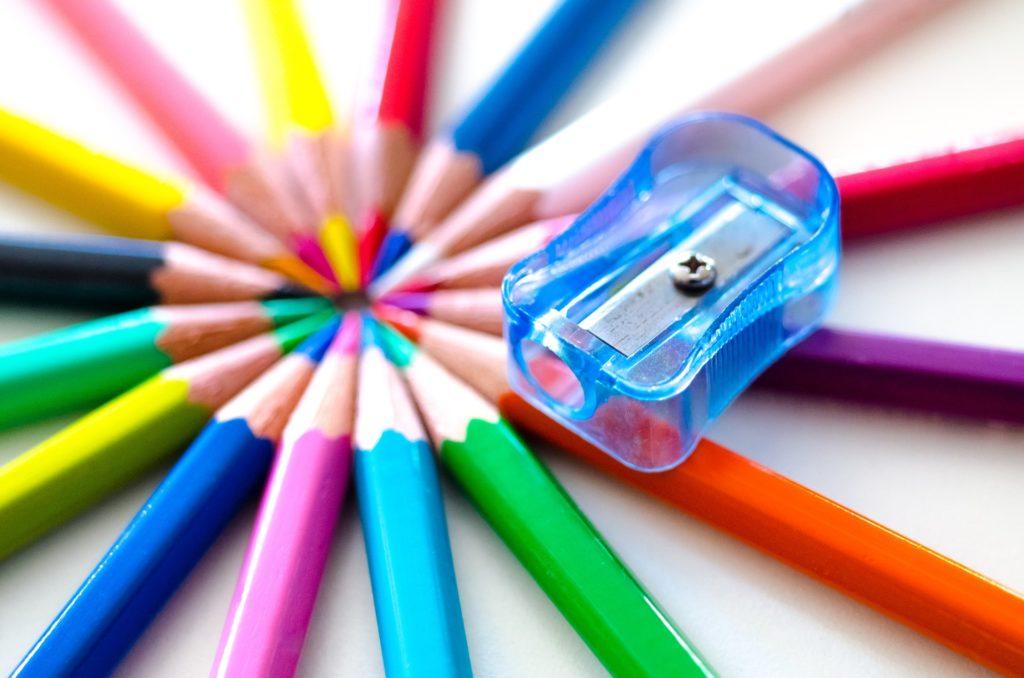 Cómo se usan lápices de colores