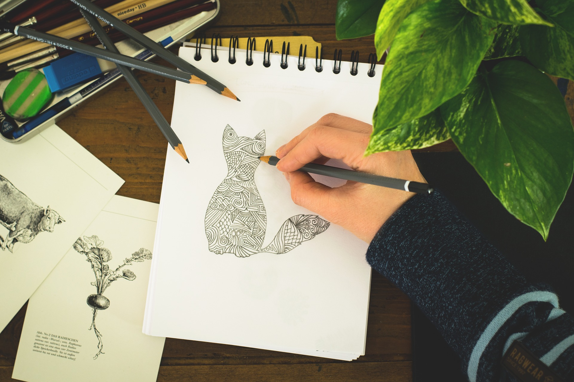 Cuadernos para dibujar