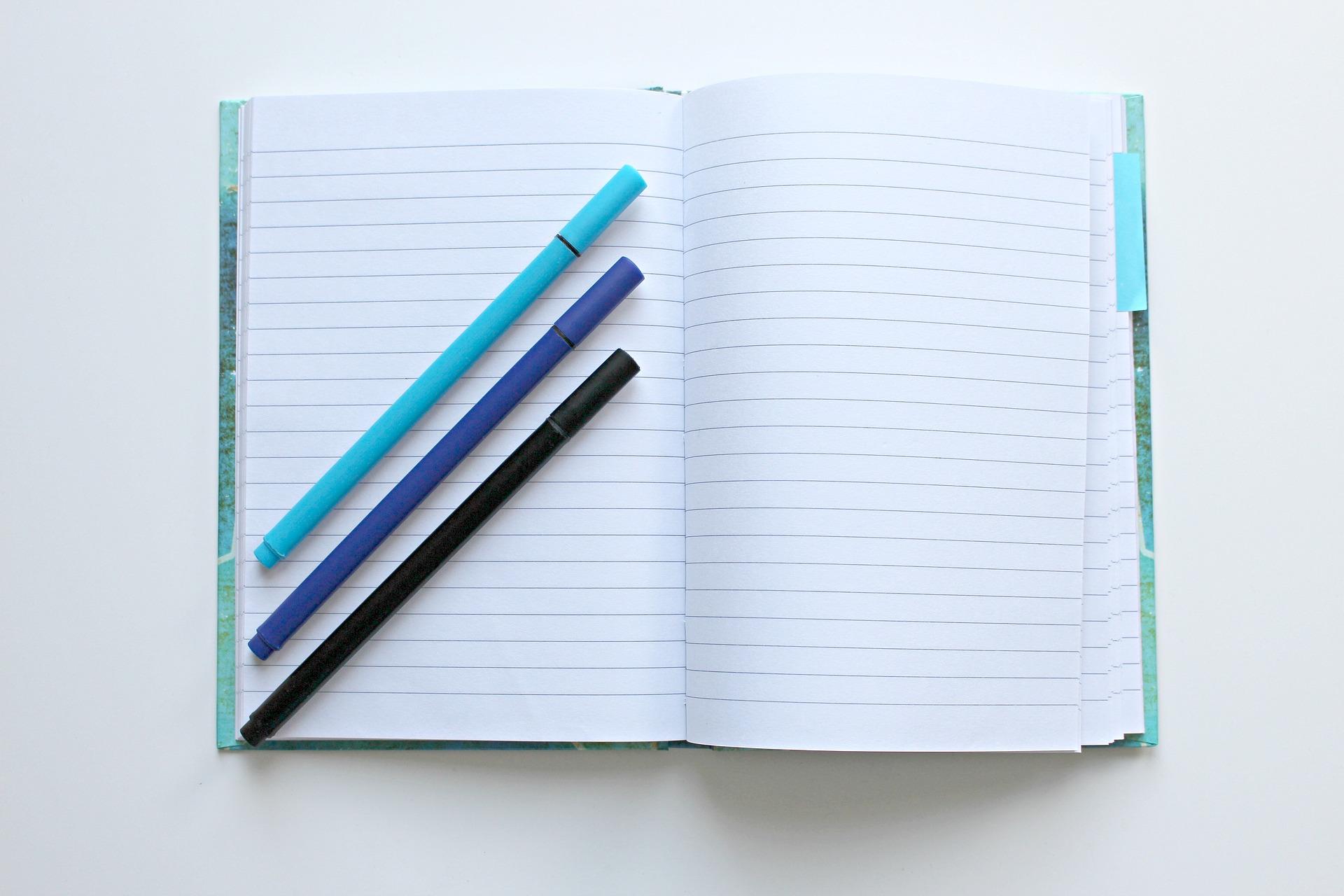 Cuadernos pautados