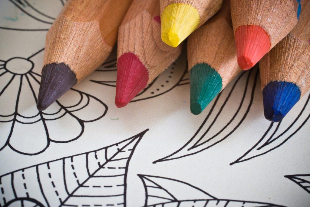 Qué son lápices de colores